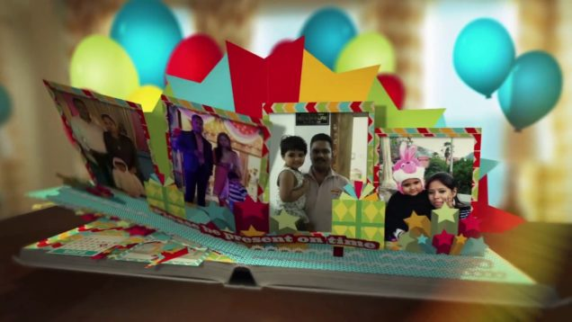 Birthday Invitation Video – Deepanshi  Bajpai – Songs with song Baar Baar Din Ye Aaye Happy Birthday