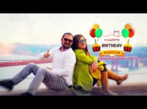 Birthday video – Sanya Khan – Song Ghajini -Kaise Mujhe (Instrumental)