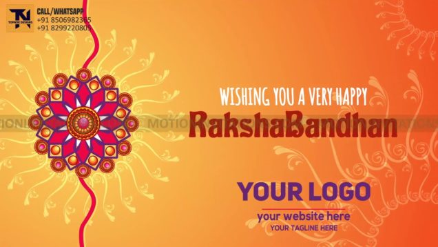 Happy RakshaBandhan Animation project MIF04009