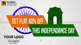 Indian Independance Day Republic Day Promotion Animation Project-MIF04003