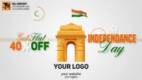 Indian Independance Day Republic Day Promotion Animation Project-MIF04006