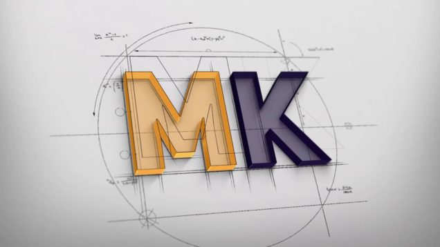 Logo Reveal MK Glass house