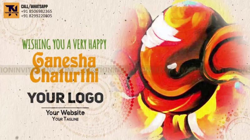 Ganesh Chaturthi Animation project MIF04017