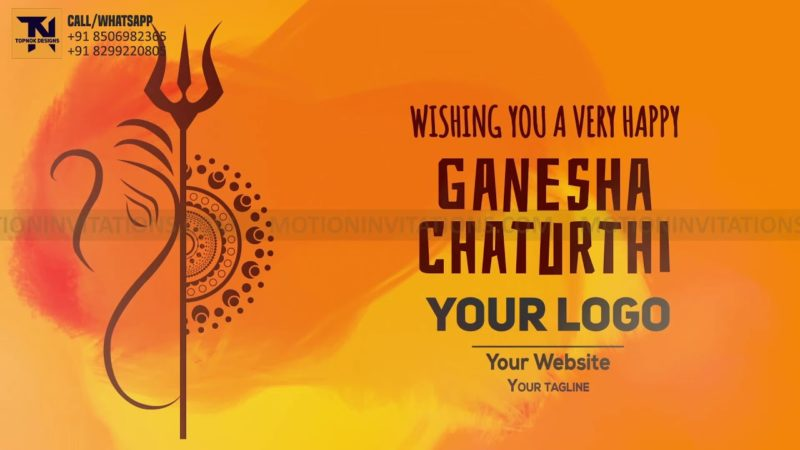 Ganesh Chaturthi Animation project MIF04015