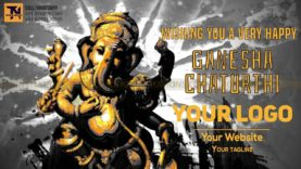 Ganpati Bappa Morya Animation project MIF04016