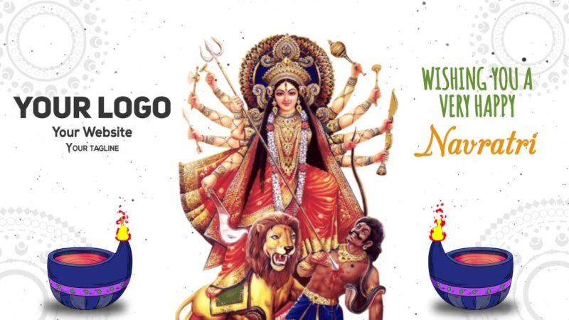 Maa Durga Navratri Animation project MIF04018
