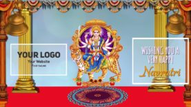 Maa Durga Puja Navratri Animation project MIF04019
