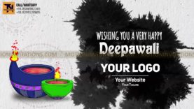 Happy Diwali Animation Promotion project MIF04020