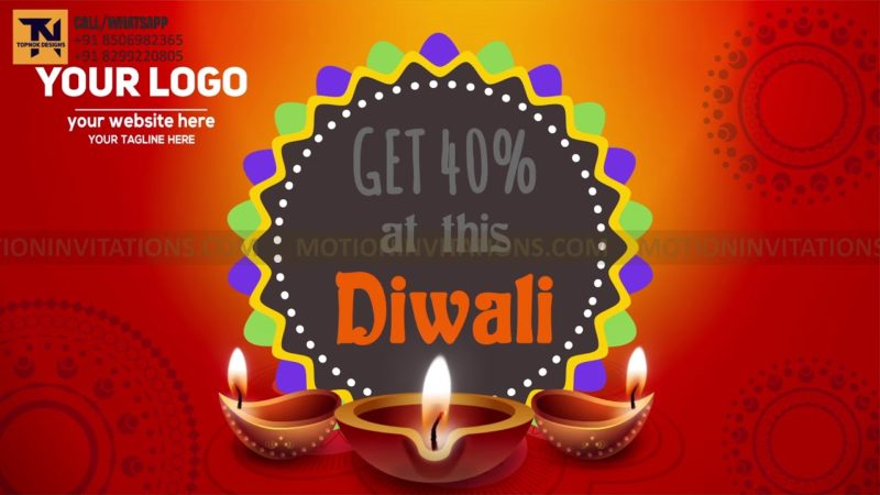 Shubh Deepawali Animation Promotion project MIF04021