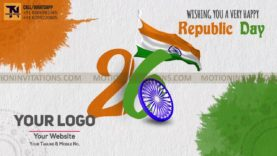 Republic Day Animation Promotion project MIF04023