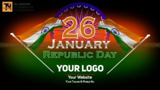 Republic Day Animation Style project MIF04025